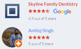 Skyline family dentistry bishop reviews